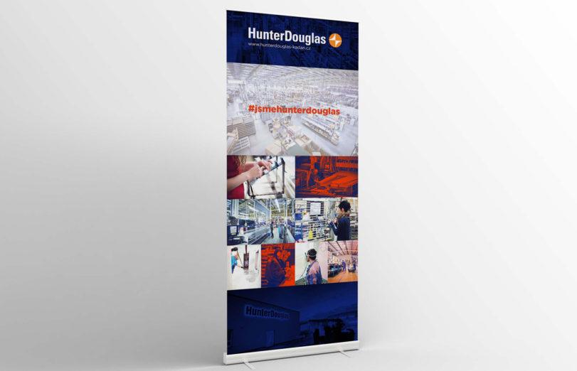 grafika web Hunter Douglas
