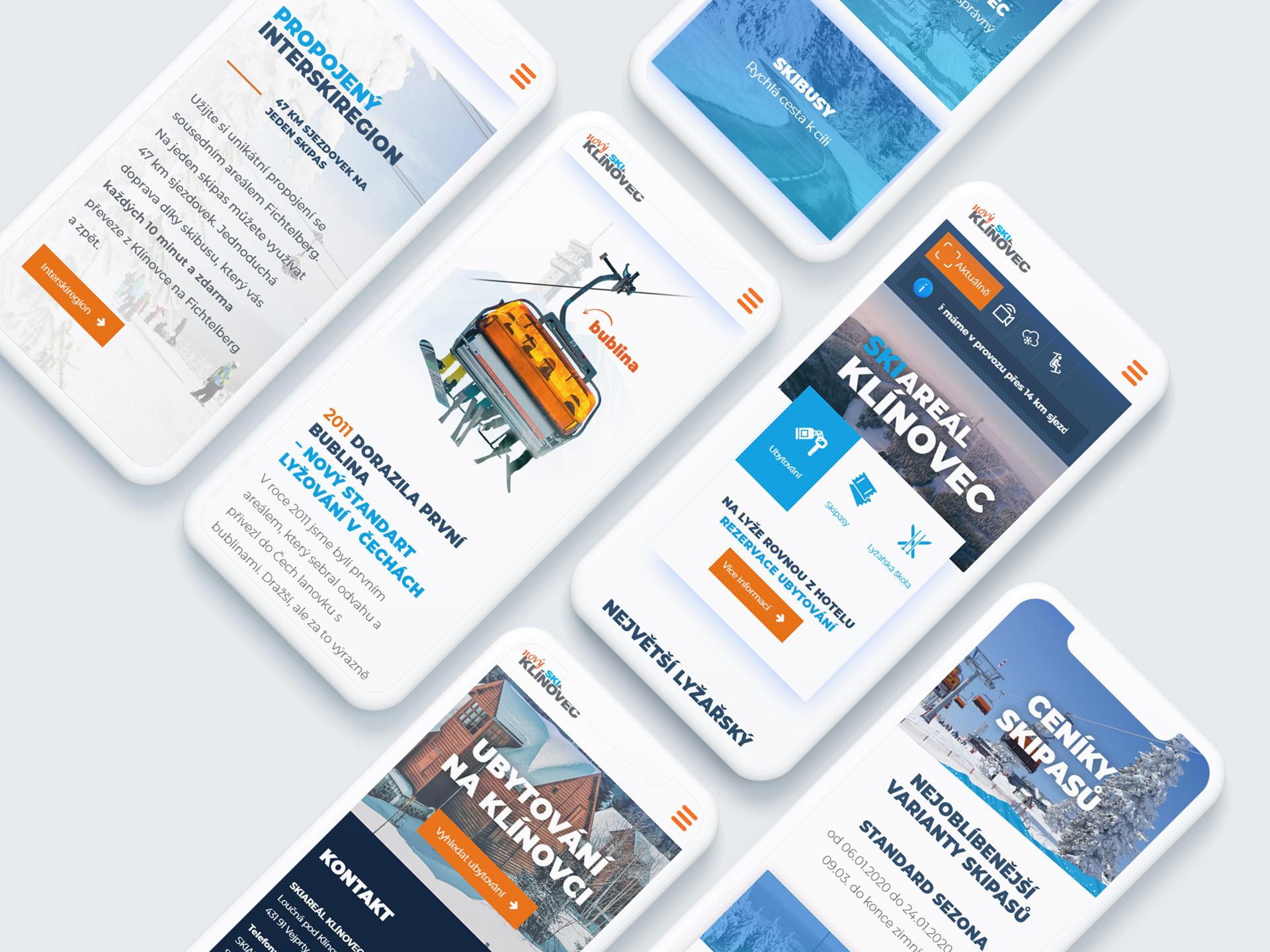 Grafický design a reklama Klínovec