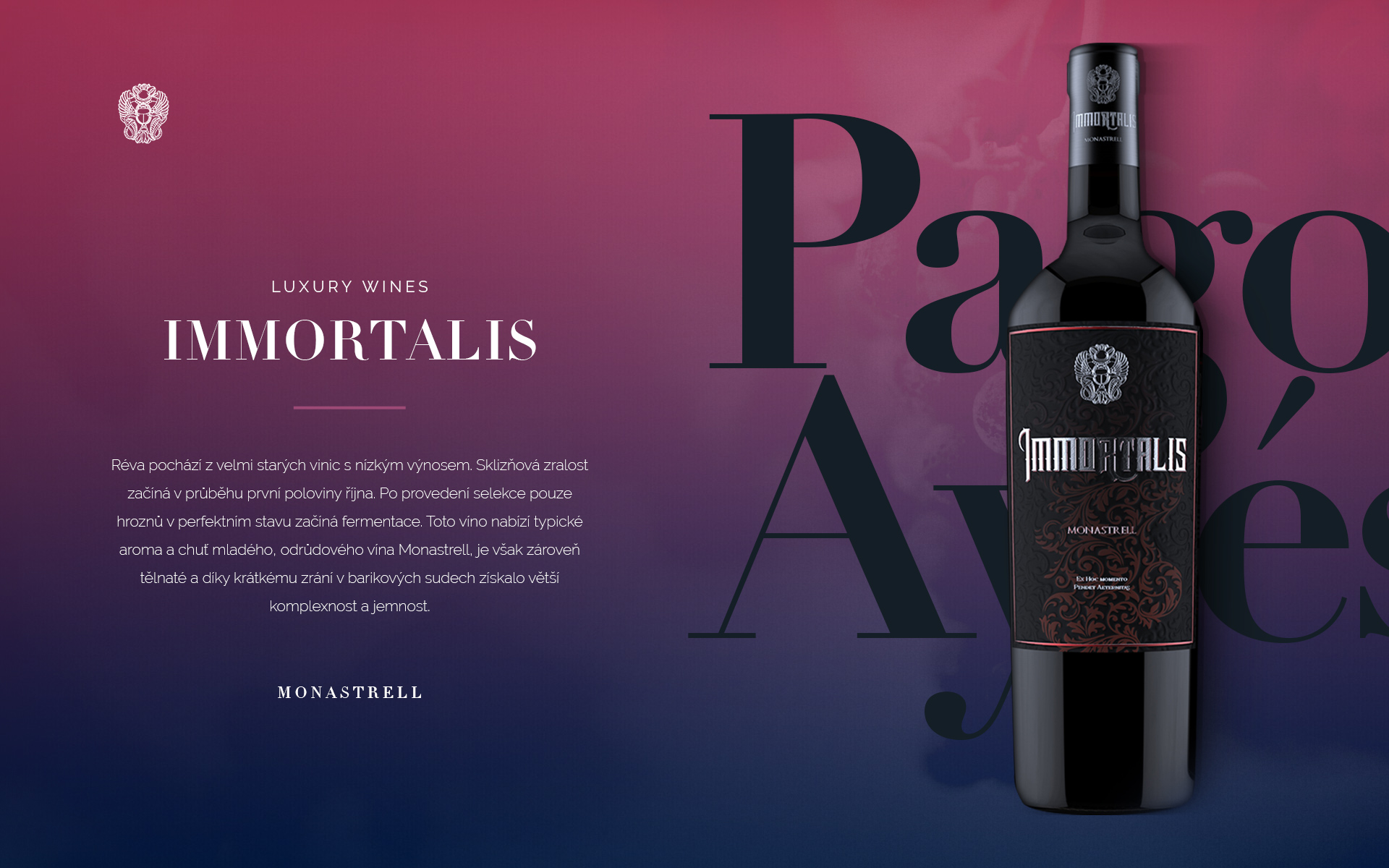 grafický design vín