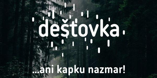 Grafika a design - Dešťovka