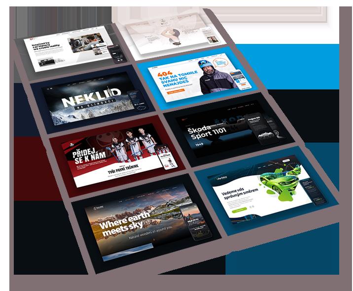 Webové stránky a sociální sítě